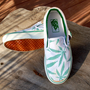 Vintage Peace Leaf Vans  Rare  White/Green by ICaughtTheSun
