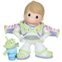 ''To Infinity and Beyond'' Buzz Lightyear and Space Alien Figurine by Precious Moments | Disney Store