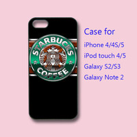 starbucks - iPhone 4 case, iPhone 5 case, ipod touch case , galaxy s3 case , galaxy note 2 case