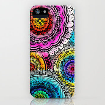 mandala iPhone Case by Goyye