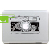 Camera- Decal laptop MacBook pro decal MacBook decal MacBook air sticker-53766