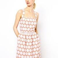 Boutique by Jaeger Halter Neck Sundress at asos.com