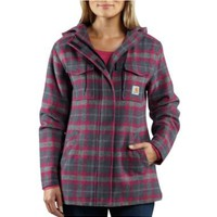 Women's Camden Plaid Wool Parka