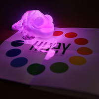 ThinkGeek :: Huey the Color Copying Chameleon Lamp