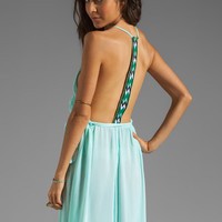 WOODLEIGH Veve Maxi Dress in Seafoam from REVOLVEclothing.com