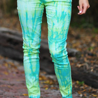 That 70&#x27;s Girl Pants: Tie Dye | Hope&#x27;s