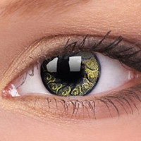Gold Jewel Colour Contact Lenses, Gold Jewel Contacts | EyesBright.com
