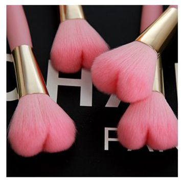 Heart Shaped 16 cm Blush Brush