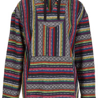 Coloured Aztec Blanket Jacket - Festival Shop - Collections - Topshop USA