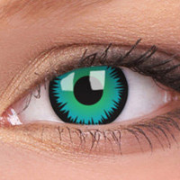 Green Werewolf Contact Lenses, Green Werewolf Contacts | EyesBright.com