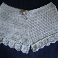 Crochet Shorts - Summer Fashion - Can be Made in all Sizes