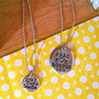 Pray For BostonHand Stamped Necklace Large by DarkChocolateNTulips