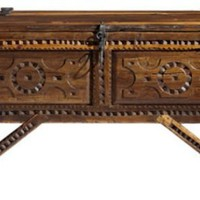 Millicent Rogers Chest: Southwest Furniture, Santa Fe Style: Southwest Spanish Craftsmen