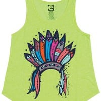 Billabong Playing Tribes Tank - Lemon Twist - G4082PLA				 |  			Billabong 					US