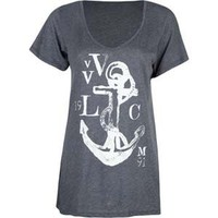 VOLCOM Shark Attack Womens Tee 192803110 | tees | Tillys.com