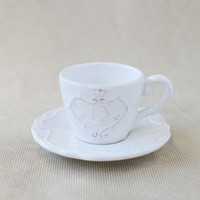 chatsworth house teacup & saucer set at ShopRuche.com
