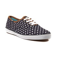 Womens Keds Champion Dot Casual Shoe, Navy White  Journeys Shoes