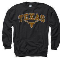 Amazon.com: Texas Longhorns Youth Black Perennial II Crewneck Sweatshirt: Sports & Outdoors