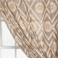 Plum &amp; Bow Two-Tone Eyelet Curtain