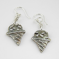 Sweet Treats! Pure Silver Earrings