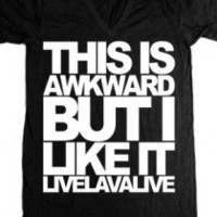 The Awkward V-Neck (Unisex) T-Shirt