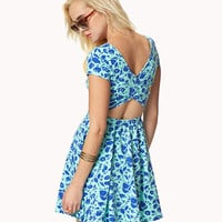 Crisscross Back Skater Dress | FOREVER 21 - 2050221051