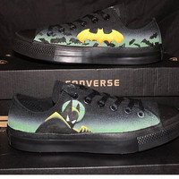 Batman the Animated Series Custom Converse
