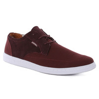 Pointer Benjamin 2 Suede/canvas Shoes - French Roast White at Urban Industry