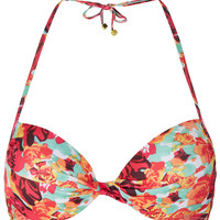 Tangerine Rose Bikini Top - Bikini Separates - Swimwear - Clothing - Topshop