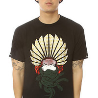 Crooks &amp; Castles Tee Mayan Medusa Black
