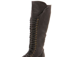 Faye lace Up Riding Boot