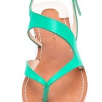 Diane von Furstenberg Daphne Flat Sandals | SHOPBOP Save 20% with Code WEAREFAMILY13
