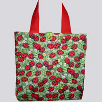 Girls Bag with Ladybirds