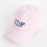 Womens Hats: Seersucker Baseball Hat– Vineyard Vines