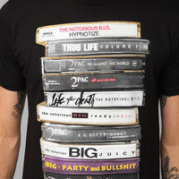 Tupac And Biggie Tapes Tee