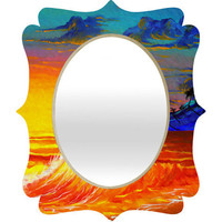 DENY Designs Home Accessories | Madart Inc. Tropical Vision 2 Quatrefoil Mirror