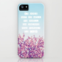 Dwell on Dreams iPhone Case by Beth Thompson