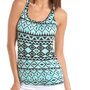 Tribal Print Tie-Back Knit Tank: Charlotte Russe