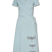 Dragonfly Wrap Dress: Soul-Flower Online Store