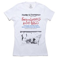 Fear and Loathing in Las Vegas book cover t-shirt | Outofprintclothing.com