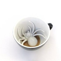 Amazon.com: Spider Creepy Cup: Kitchen &amp; Dining