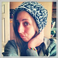 Salt n Pepper Slouchy Beanie from Diamond Life Boutique