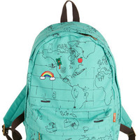 Landmarks That I Love Backpack | Mod Retro Vintage Bags | ModCloth.com