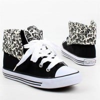Canvas Leopard print Tennis