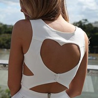 Heart Cutout Dress