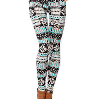 Papaya Clothing Online :: GEO PATTERN LEGGINGS