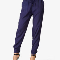 Cuffed Drawstring Pants | FOREVER 21 - 2037687289