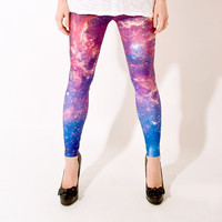 Purple Nebula Leggings at Firebox.com