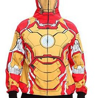Marvel Iron Man 3 Mark 42 Full Zip Hoodie Pre-Order - 316717