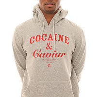 Crooks and Castles Sweatshirt Men&#x27;s The Cocaine &amp; Caviar Crewneck in Gray